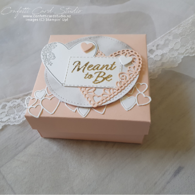 WEDDING RING BOX AND CARDS