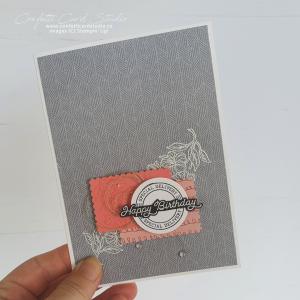 Postal Handmade Birthday Card