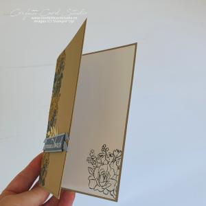 Floral Handmade Thank You Card