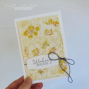 Wild Roses Handmade Card