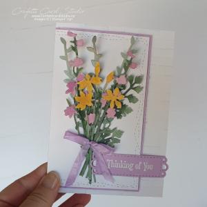 Quiet Meadow Wild Flowers Card