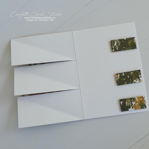 Tri Easel Beautiful Earth Card Inside