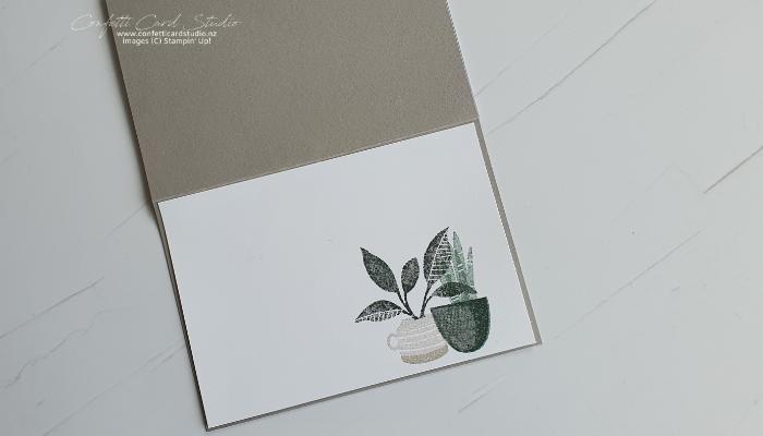 Plentiful Plants Photo Card Inside