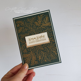 Read more about the article FESTIVE FOLIAGE EMBOSSED