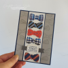 Colourful Ties Fathers Day Card