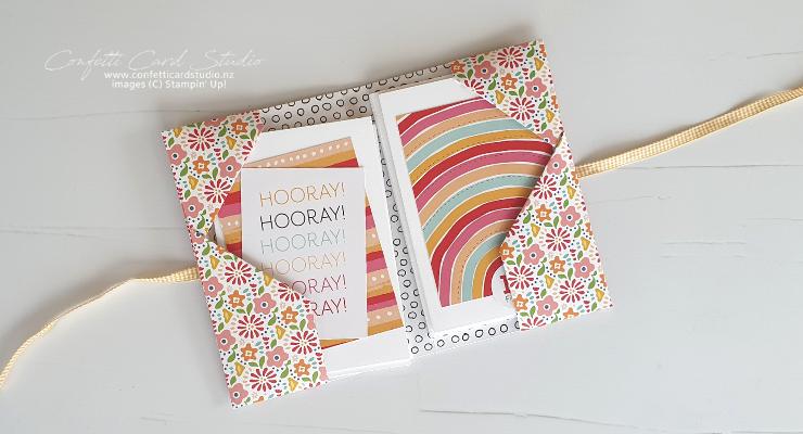Bright Rainbow Cards & Wallet