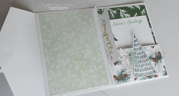 Whimsical Christmas Gift Card Holder Inside
