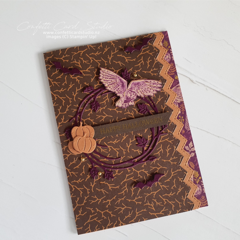 Read more about the article BLACKBERRY OWL HALLOWEEN CARD